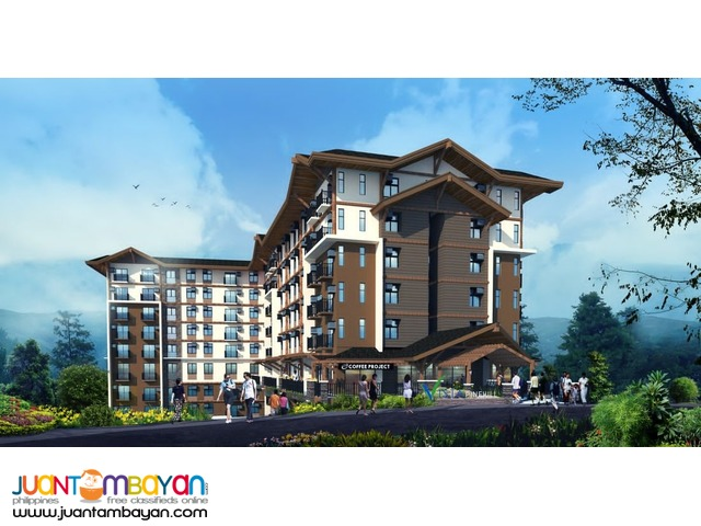 Affordable Vista Pinehill Studio condo for sale in Baguio City