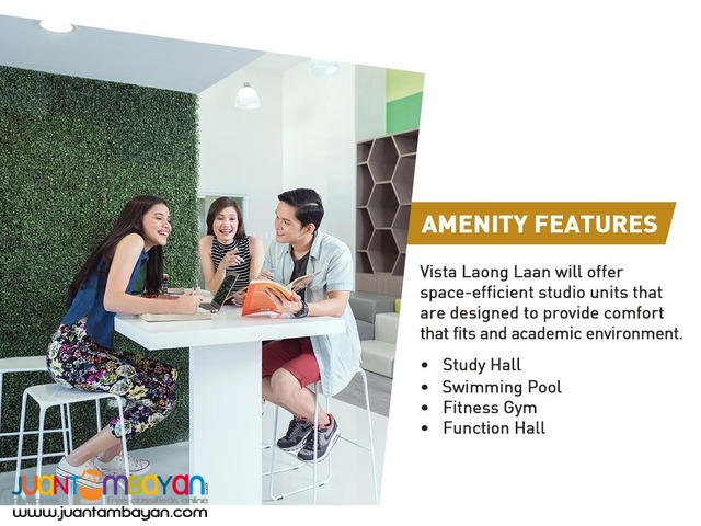 Vista Laong Laan condo investment near UST in Manila