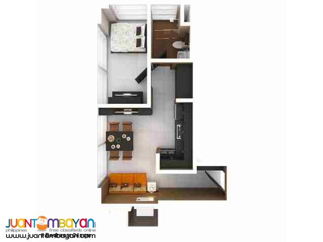 Ready for Occupancy condo for sale in Quezon City near ABSCBN
