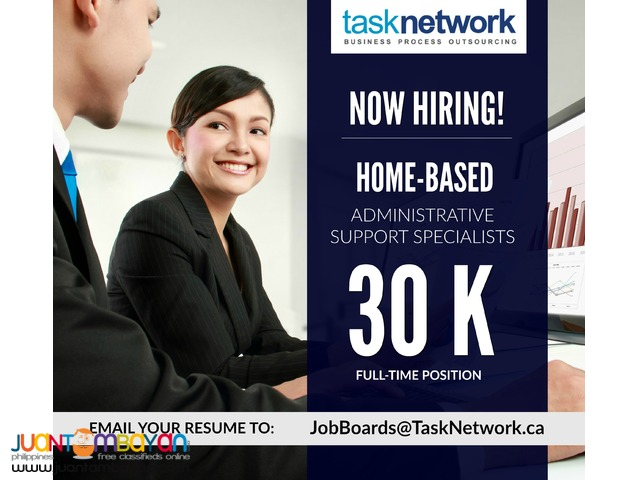 Home-Based Administrative Support Specialists