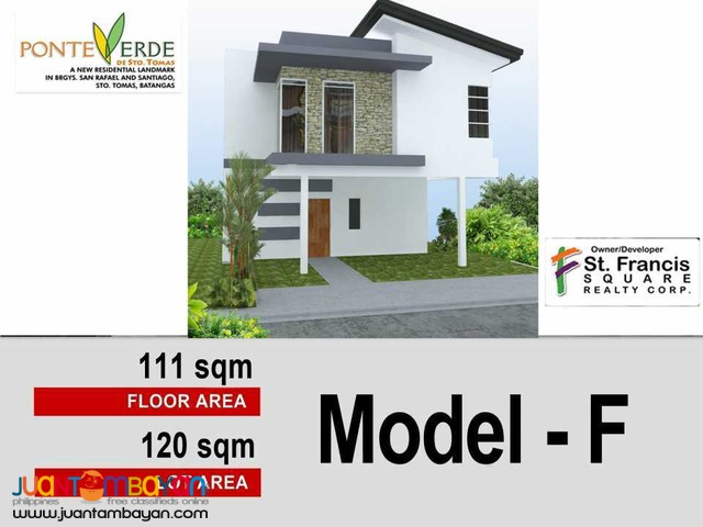 Affordable lot for sale at Ponte Verde De Sto Tomas