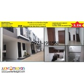 Levier 4 House and Lot for Sale in Parang Marikina