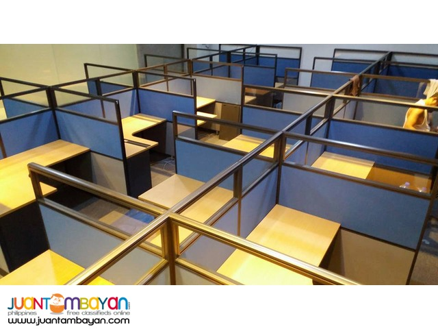 Call center type Office Partition