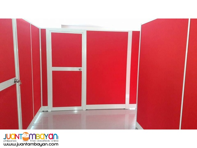 Red Full fabric High Partition