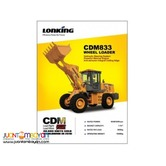 CDM833 Wheel Loader,Lonking