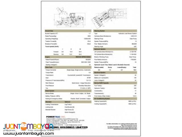 CDM833 Wheel Loader,Lonking