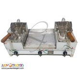 Butterfly 3 in 1 - twin fryer and grill