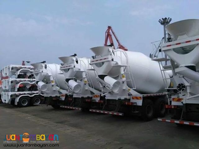 10 Wheeler HOWO-A7 Mixer Truck 10m³ euro IV