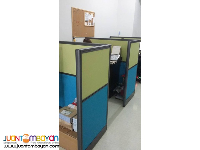 Finish Product Office Partition