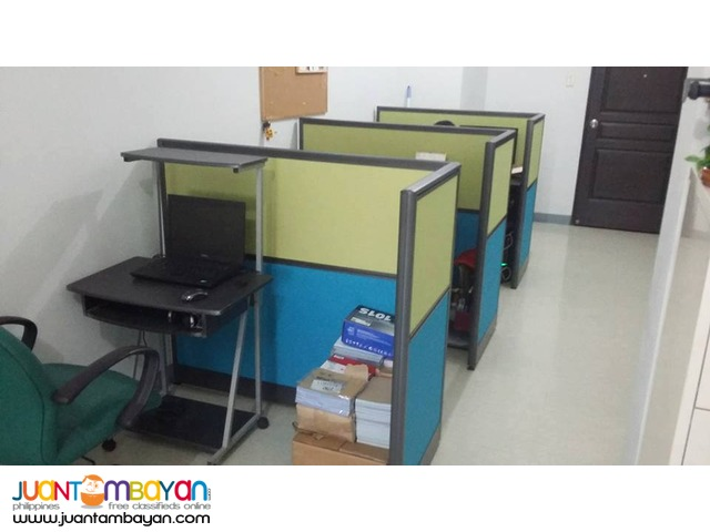 Modular Partition with Office Cubicles