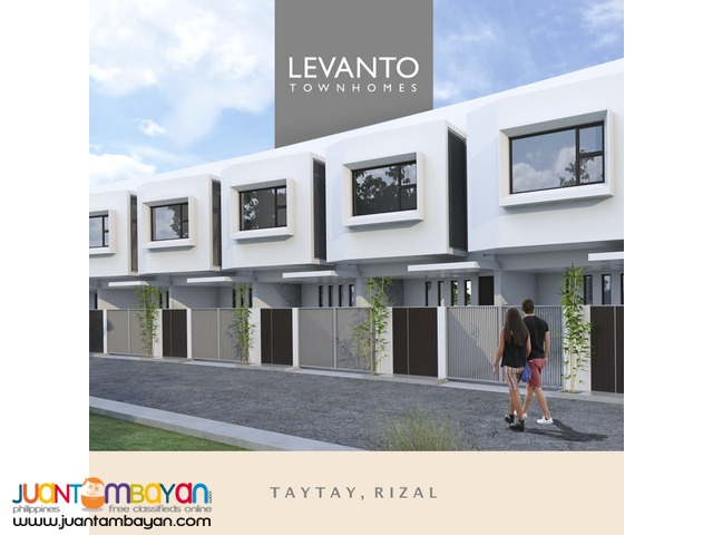 Townhomes near Ortigas Ave. Extention