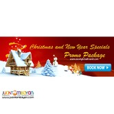 Christmas and New Year Special Promo Package