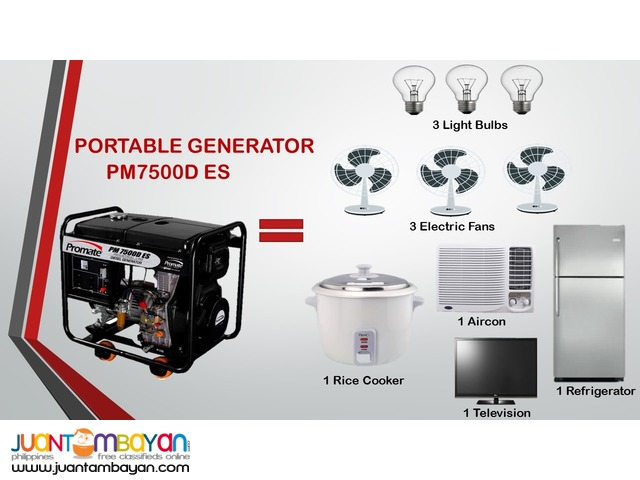 Industrial Generator Portable