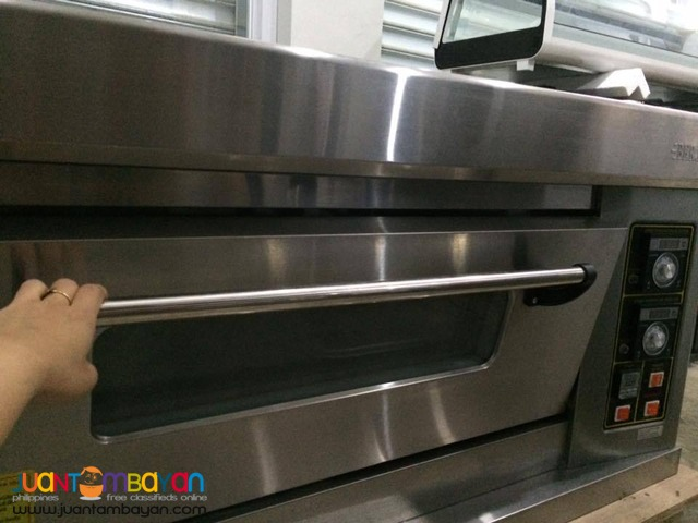 Gas Oven 1 Deck