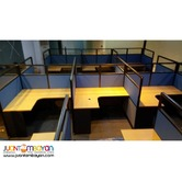 CUBICLES-new install from JVSGfurniture