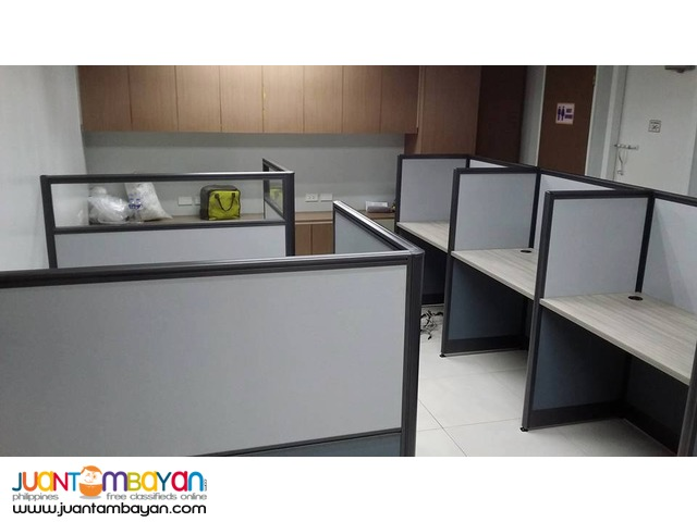 JVSG-Office Partition Done Install Cubicles
