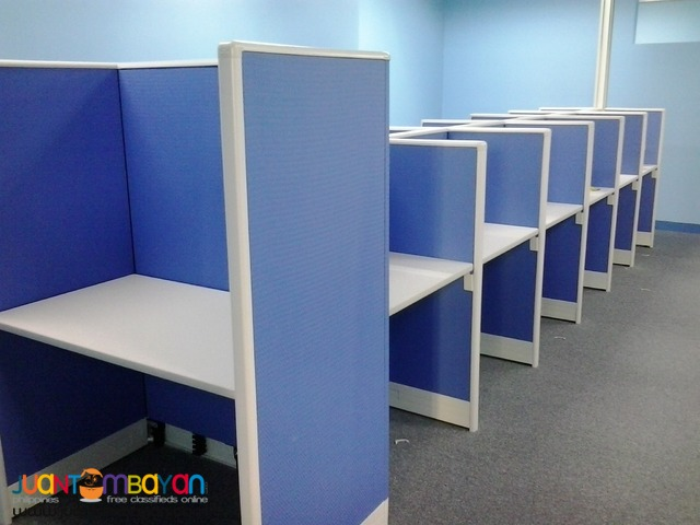 office partition to call center type