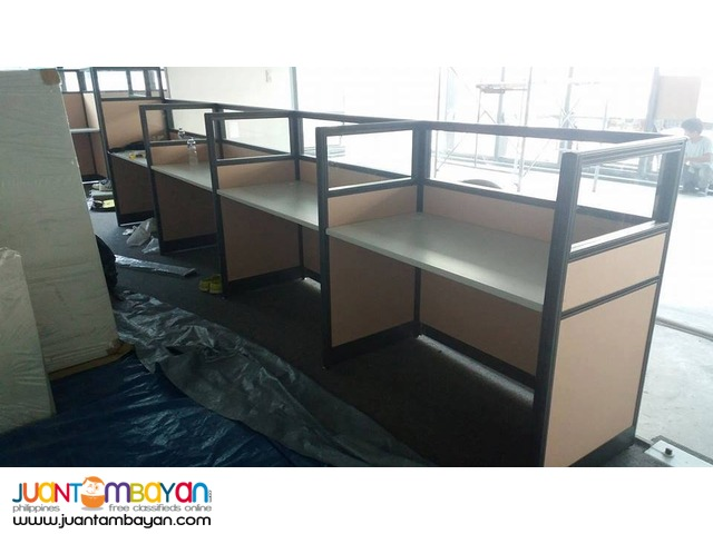 Install done Office Partition cubicles from JVSG