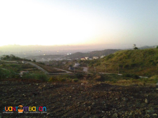 lot for sale in taytay rizal ,overlooking
