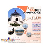 4D3N Taipei Land Package