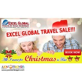 Excel Global Travel Tour Package Sale!