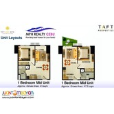 TAFT EAST GATE 1 BEDROOM CONDO UNIT IN MABOLO, CEBU CITY