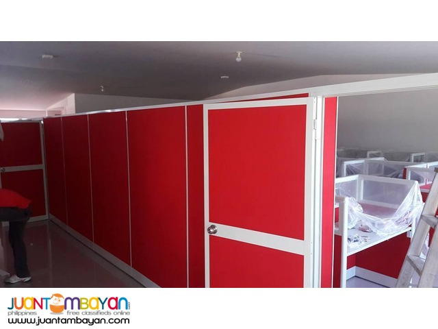 full fabric office partition from jvsg