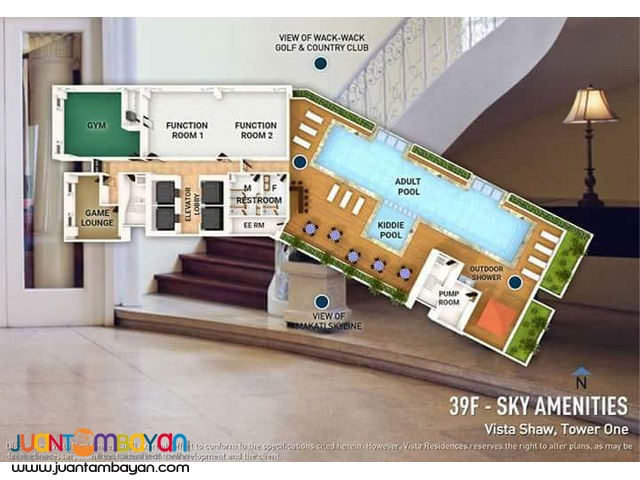 Vista Shaw 2br condo for sale in Mandaluyong City