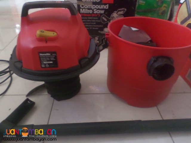 vacuum wet and dry 220v 1250wats brandnew