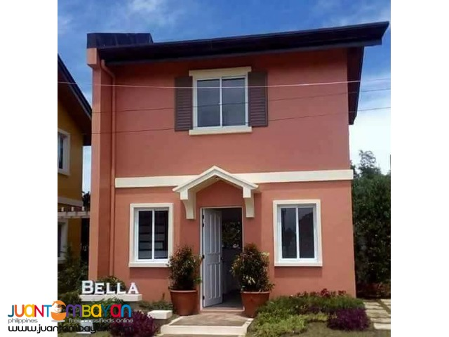 Bella 2 Bedrooms House And Lot In Camella Subic For Sale