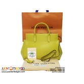 SALE - LOUIS VUITTON MARLY BAG - LV MARLY EPI MM YELLOW BAG