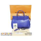 SALE - LOUIS VUITTON MARLY BAG - LV MARLY EPI MM BLUE BAG
