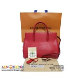 SALE - LOUIS VUITTON MARLY BAG - LV MARLY EPI MM RED BAG