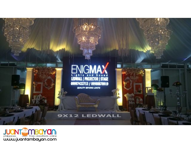 LEDWALL FOR RENT IN CAVITE