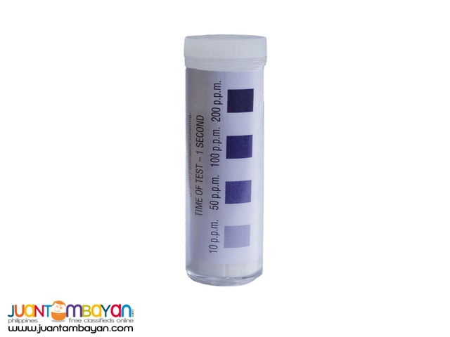 Chlorine Test Strips 10-200ppm for Disinfection