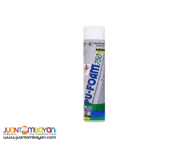 Expanding Polyurethane PU Foam Spray for Cracks and Gaps 750ml