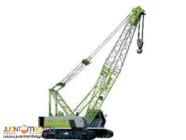ZCC 550 crawler crane,Zoomlion