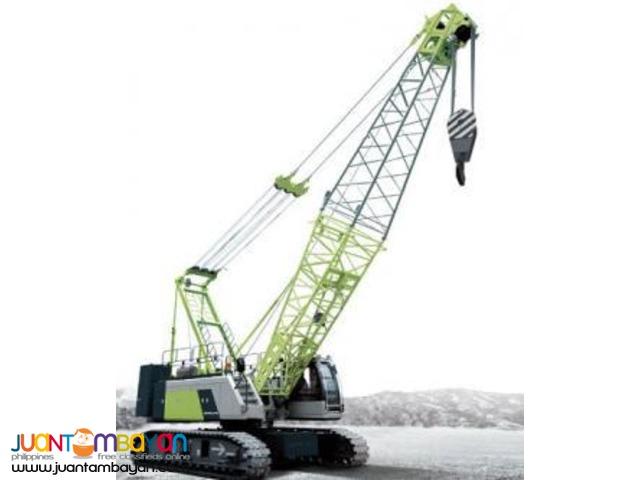 ZCC 1100 crawler crane,Zoomlion