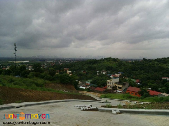 Overlooking residential lots for sale Angono Rizal