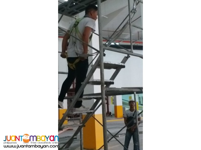 Basic Scaffold Erection Dismantling Training Demonstration