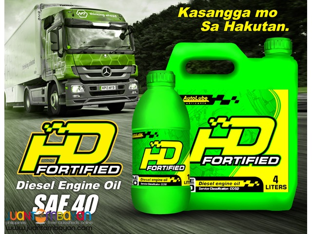 AutoLube HD Fortified SAE 40 Motor Diesel Engine Oil Lubricant