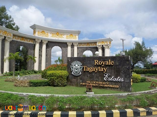 Lot For Sale in Royale Tagaytay Estates (transfer fee included)