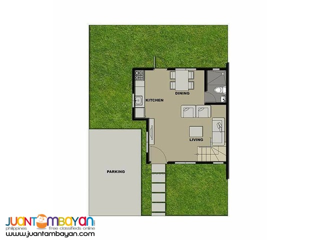 single attached unit  unna  of phirst park homes tanza