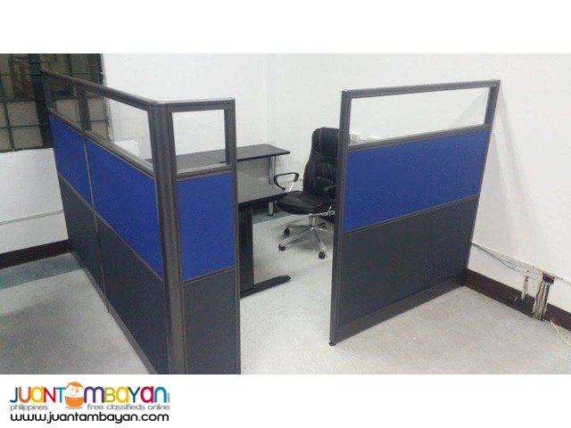 Managers Room Office Partition Two-toned from JVSG