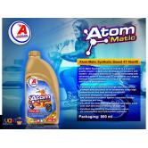 Synthetic Based Atom-Matic 4T  Motorcycle Engine Oil Lubricants