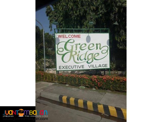 Residential lots for sale at Greenridge Executive Village