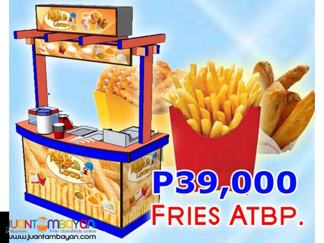 French Fries, Pearl Shake, Waffle