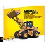CDM843 wheel loader