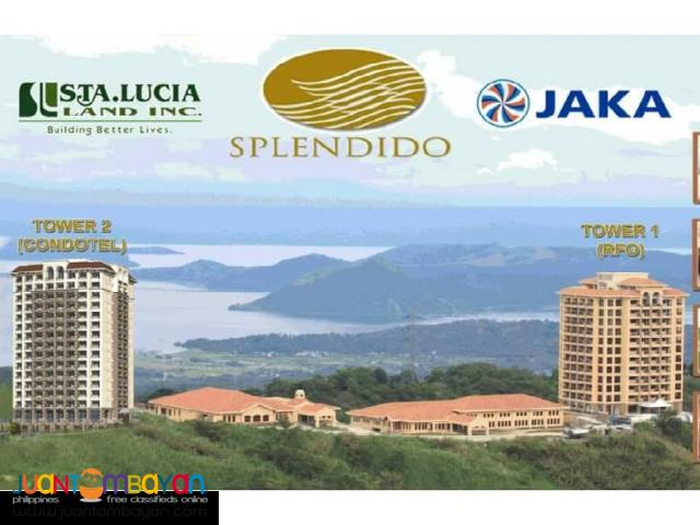Overlooking Taal Lake Condominium For Sale
