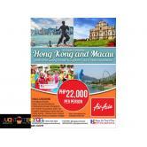 6D5N Hong Kong-Macau with Chimelong Ocean Kingdom via Air Asia